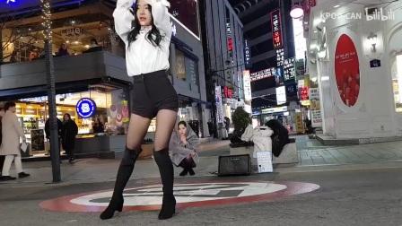【韩国街拍】新村街拍 CLOCK-Seayoung solo跳舞