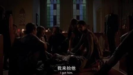 帅哥中招惨被砍腿,美女奔溃痛失爱人,末世里