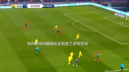 内马尔踢法甲真的可惜了,他的带球至少可以吸引两名防守队员
