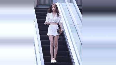 美女街拍:想要更吸睛,怎能少得了秀腰秀腿