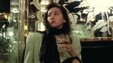 发哥来酒吧,叫了一排的美女,梅艳芳表情亮了