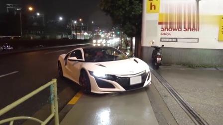 日本美女给本田NSX加油, 一起来看看