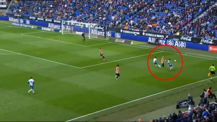 这就是武磊与西甲新外援的尴尬,位置重叠一起抢球,怪谁?