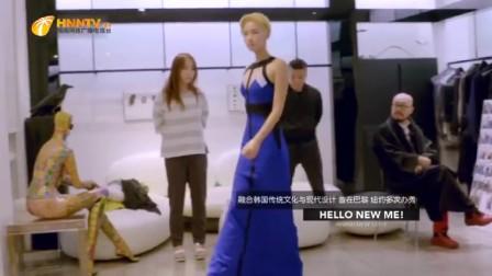 知名艺人李菲儿拜访韩国设计大师!美女你这热