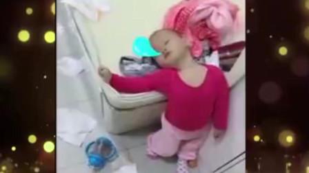 家庭幽默录像:各种奇葩的睡姿,原来睡觉也是