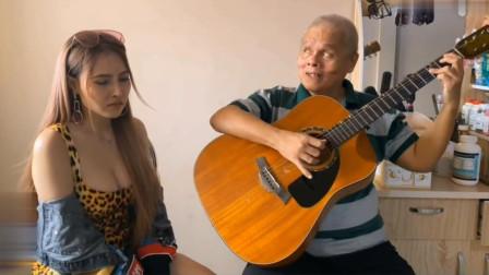 盲人吉他与美女合作《加州旅馆》三首经典