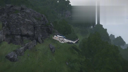 【电脑模拟】N*A球星科比布莱恩特坠机过程
