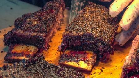 【外国小吃街拍】伦敦街头的烤牛肉——settime