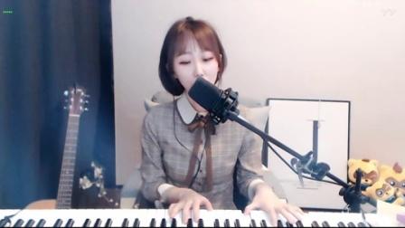 #音乐最前线#翠花祁的美丽还有她的弹唱曲, 就是我深爱她的原因!