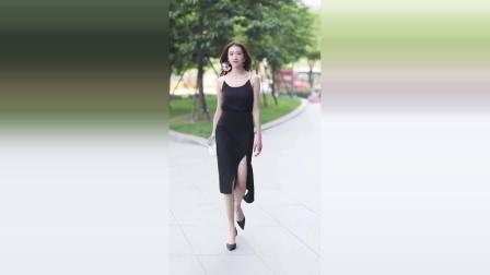 美女街拍:气质这东西,是穿出来的,谁都模仿