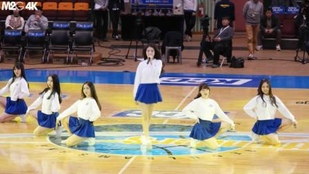 韩国美女校园篮球表演赛 唯美舞蹈不容错过 如村