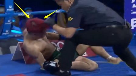 100%KO率的日本高手激怒中国无名小卒,结果仅70秒就被打晕KO了