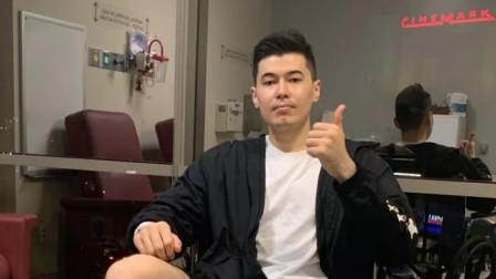 阿不都沙拉木左膝前交叉韧带重建手术成功