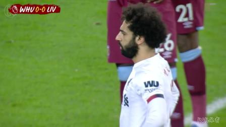 英超第18轮,西汉姆联0-2利物浦