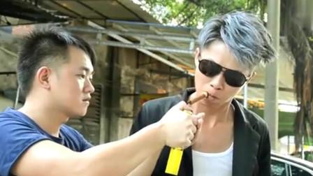 许华升搞笑视频:升哥的霸气出场秀,太搞笑了