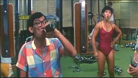 美女这肌肉量,也就甄子丹能抗住了!