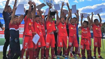 董路寄语中国足球小将的2020——杨梓辰、黄子杰!