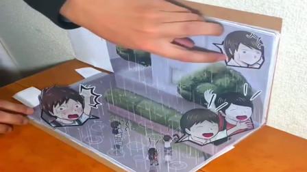 创意幽默动画,日本动画鬼才新作,短短一分钟