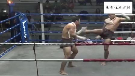 古泰拳实战!这才叫泰拳,网友:拳击跟它比差远了