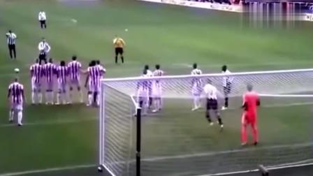 足球场上最没有节操的一次任意球,门将想死的心都有了