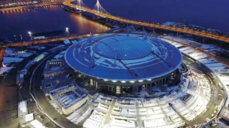 惊险!俄圣彼得堡体育馆在拆除过程中倒塌