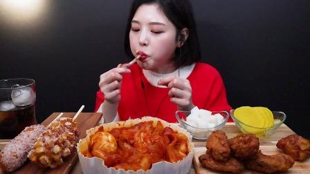 Eat with *oki韩国美女吃播文福姬小姐姐芝士满满的