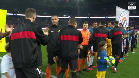 法甲:巴黎5-0九人蒙彼利埃 萨拉维亚传射姆巴佩建功