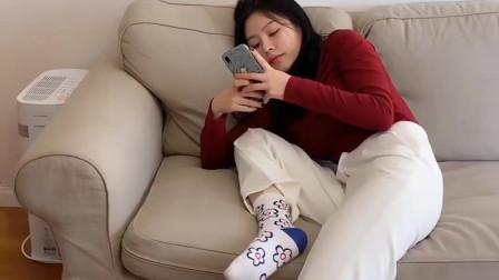 祝晓晗搞笑视频:蓝瘦,香菇!