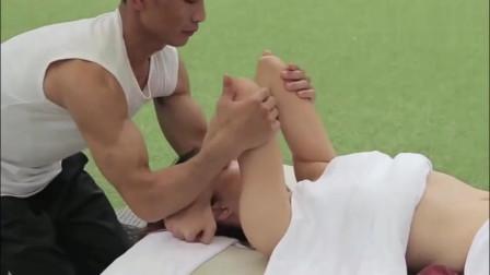 美女体验全身spa一条龙,按摩油放松缓解压力,