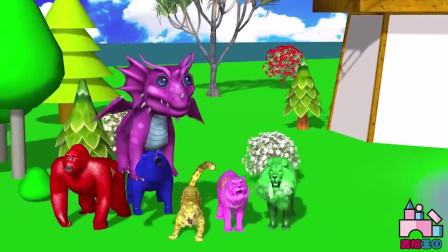 萌宝早教启蒙3D动画!动物音乐会开始啦?一起来玩吧!