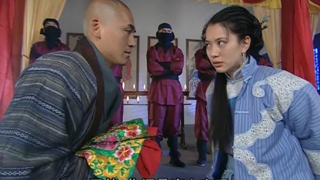 南少林:和尚联合倭寇强迫美女成亲,谁料半路