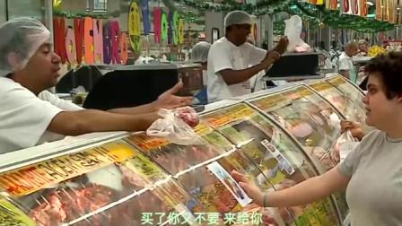 恶搞:超市卖的肉末里有副假牙,顾客气坏了