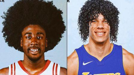 当N*A众球星换了超潮的新发型之后......哈登和球哥确定不是来搞笑的?