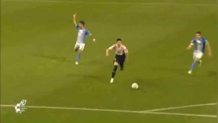 国王杯武磊单刀破门,西甲欧联杯国王杯均进球,成中国第一人!