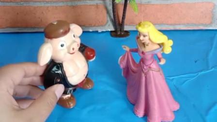 孙悟空变成一位美女,让猪八戒背他走路,差点