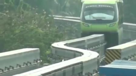 灵异事件:铁轨突然断开,下一刹监控拍下离奇画面