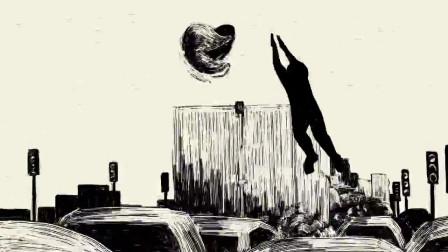 黑色幽默动画,拥堵的城市却容不下一个我,错