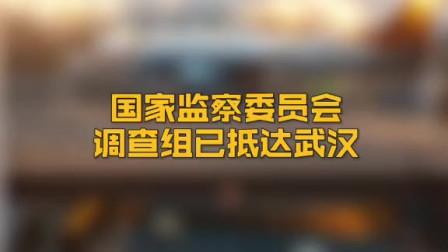 中央纪委国家监委网站消息 国家监察委员会调查组已抵达武汉 来源:新华网