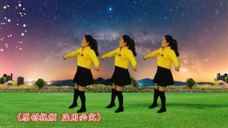 美女跳广场舞《想啊》火了,DJ动感,舞姿魅力十