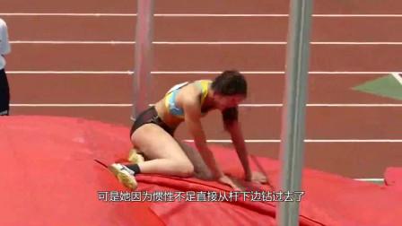 """日本最美女运动员,赛场""""尴尬""""瞬间被抓拍,"""
