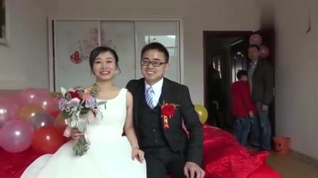 结婚:安徽美女上海大学毕业,嫁到当地当儿媳