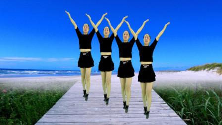 健身减肥广场舞《中国梦》网络热门舞曲 舞蹈热情洋溢