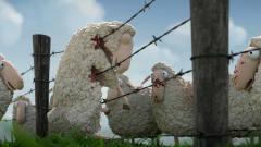德国幽默动画《死羊羊》, 以喜剧的形式讲述血腥