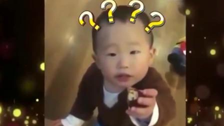 家庭幽默:宝宝怎么转圈吃枣呢?妈妈很无奈,