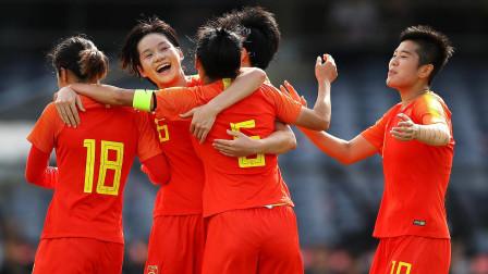 中国足球的骄傲!10分钟连进4球!女足奥预赛中国5-0狂胜中国台北
