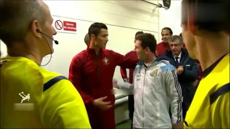 足球 :英雄惜英雄,当球员们互相尊重时,球场上也有感人时刻!