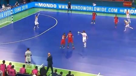 精彩室内足球 欧洲杯决赛 西班牙VS葡萄牙,葡萄牙夺冠精彩集锦!