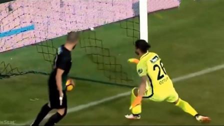 笑出声的足球爆笑视频,马塞洛防守梅西的任意球也是拼了