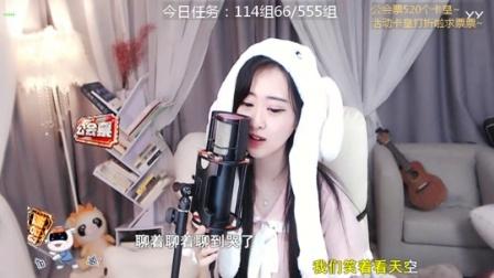 #音乐最前线#夏小葵翻唱《化身孤岛的鲸》, 治愈