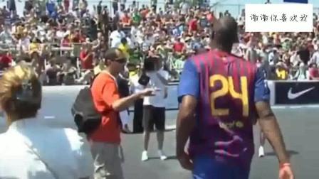 巴萨24号球员科比!科比曾有一个足球梦!